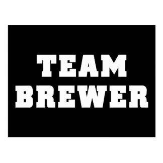 Team Brewer Postcard