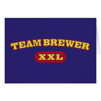 Team Brewer XXL Card