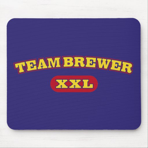 Team Brewer XXL Mouse Pad