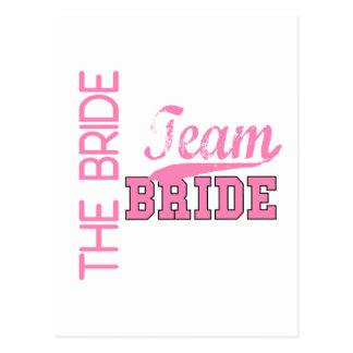 Team Bride 1 BRIDE Postcard