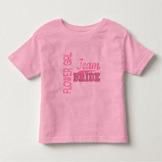 Team Bride 1 FLOWER GIRL T-shirt
