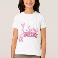 Team Bride 1 JUNIOR JR BRIDESMAID T-Shirt