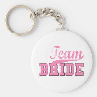 Team Bride 1 Key Chain
