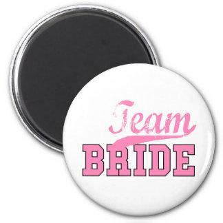 Team Bride 1 Fridge Magnet