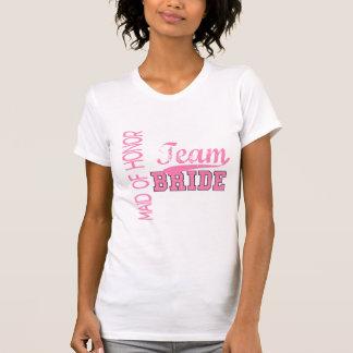 Team Bride 1 MAID OF HONOR T-Shirt