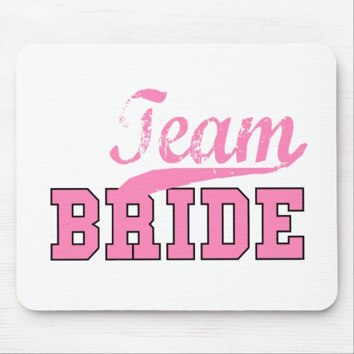 Team Bride 1 Mouse Pad