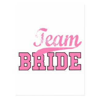 Team Bride 1 Postcard