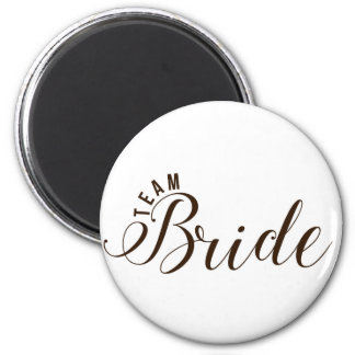 Team Bride Accessories Magnet