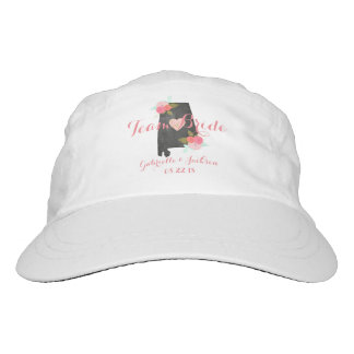 Team Bride Alabama State Wedding Party Bridesmaid Hat