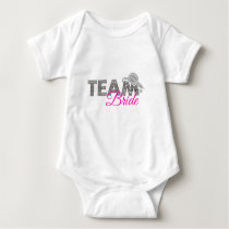 Team bride baby bodysuit