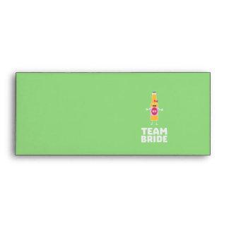 Team Bride Beerbottle Z5s42 Envelope