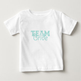 Team Bride - Blue Baby T-Shirt