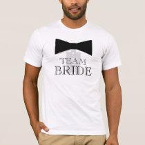 Team Bride Bow Tie Shirt