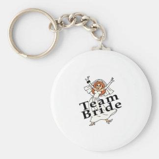 Team Bride (Bride) Keychains