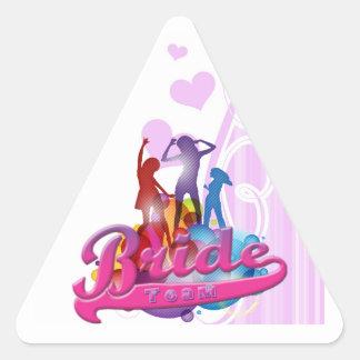 team bride bridesmaids bachelorette wedding bridal stickers