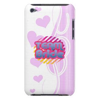 Team Bride Bridesmaids bachelorette wedding party iPod Case-Mate Cases