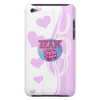 team bride bridesmaids wedding bridal party pink iPod Case-Mate case