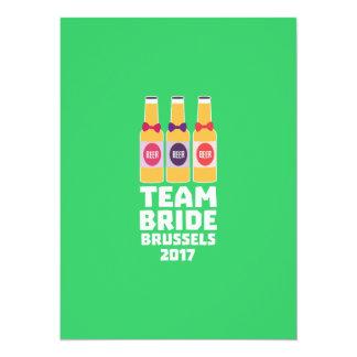 Team Bride Brussels 2017 Zfo9l Card