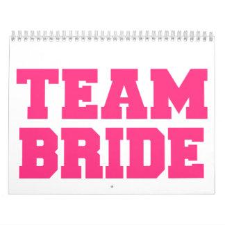 Team Bride Calendar