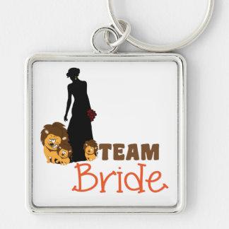 Team bride - cartoon lions keychains