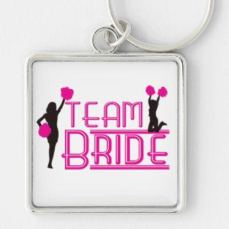 Team Bride - cheerleaders Keychains