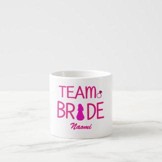 Team Bride - Custom Bridesmaid Gifts Espresso Cup