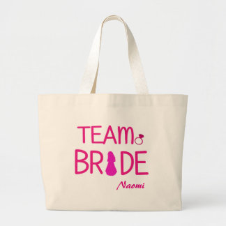 Team Bride - Custom Bridesmaid Tote Bag