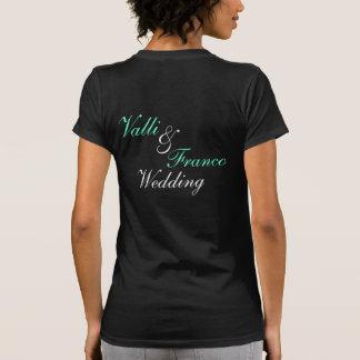 Team Bride Custom Wedding T Shirts