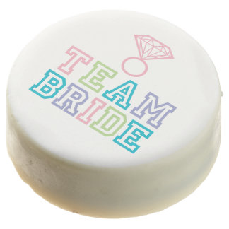 Team Bride Diamond Ring Chocolate Dipped Oreo