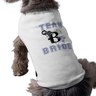 Team Bride Dog Clothing