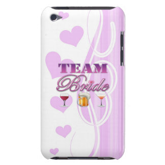 Team Bride Drinks Bridesmaids Wedding Bridal Party iPod Touch Cover