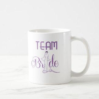 Team Bride - fancy Coffee Mug