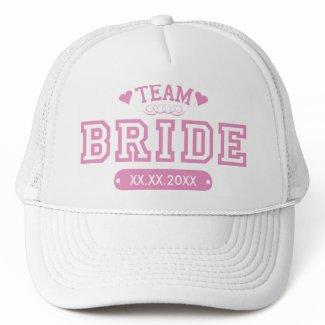Team Bride Hat hat