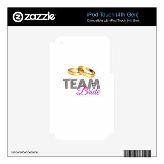 Team bride iPod touch 4G skin