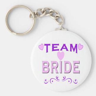 Team Bride Key Chain
