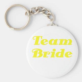 Team Bride Key Chains