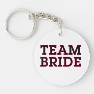 Team Bride Keychain Key Chains