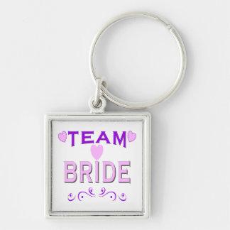 Team Bride Keychain