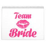 Team Bride kiss Calendars