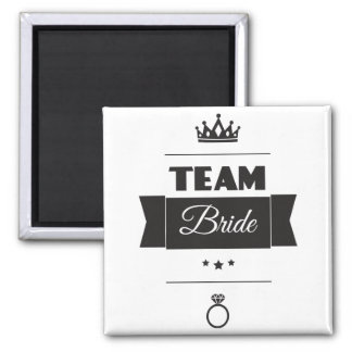 Team Bride Magnet
