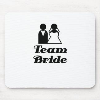 Team Bride Mouse Pad