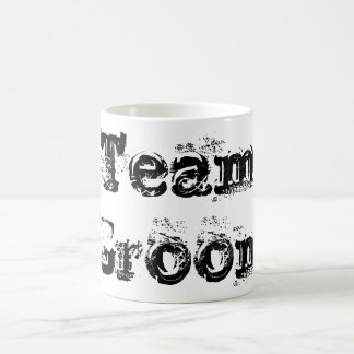 Team Bride or Groom Wedding Favour Vintage Rustic Coffee Mug