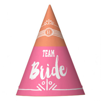 Team Bride party hat