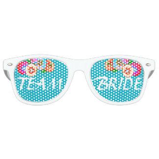 Team Bride Party Shades! Bridesmaid & Bachelorette Retro Sunglasses