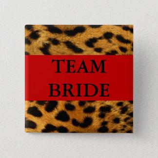 Team Bride Pinback Button