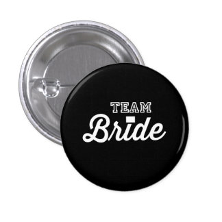Team Bride Pinback Button