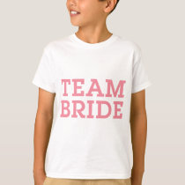 Team Bride Pink T-Shirt