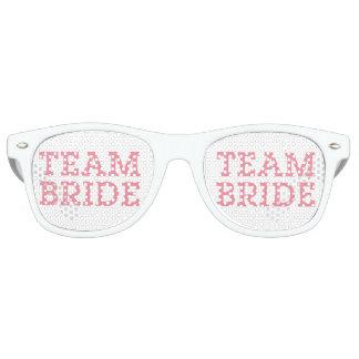 Team Bride Pink Wayfarer Sunglasses