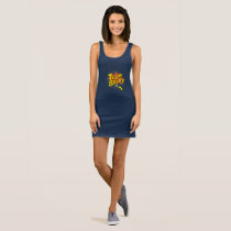 Team Bride Pop Art style Sleeveless Dress