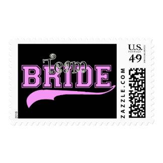 Team Bride Postage Stamp